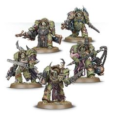 (43-51) Death Guard Blightlord Terminators