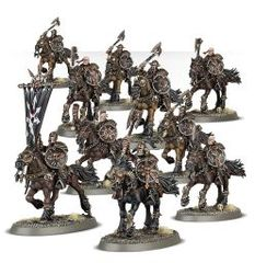 (83-08) Warriors of Chaos Marauder Horsemen