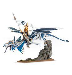 (87-11) High Elf Lord on Dragon