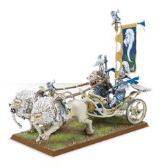 (87-07) White Lion Chariot