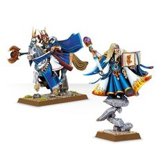 (87-21) High Elf Archmage and Mage