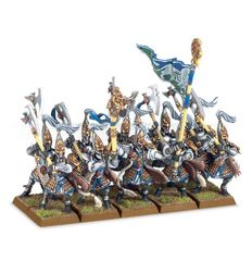 (87-13) High Elf White Lions of Chrace