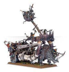 (95-16) Ogor Mawtribes Grot Scraplauncher / Ironblaster