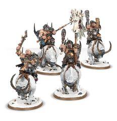 (95-14) Ogre Kingdoms Mournfang Pack
