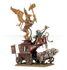 (86-24) Empire Volkmar the Grim on The War Altar of Sigmar
