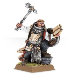 Empire Warrior Priest with Hand Weapon and Shield