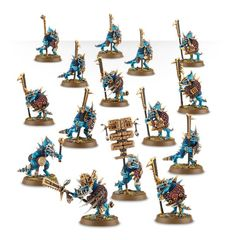 (88-12) Lizardmen Temple Guard / Saurus Guard
