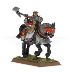 Empire Warrior Priest on Warhorse