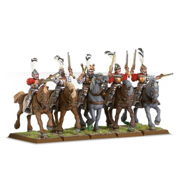 (86-19) Empire Pistoliers / Outriders