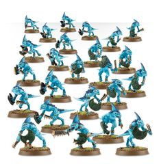 (88-07) Lizardmen Skink Regiment