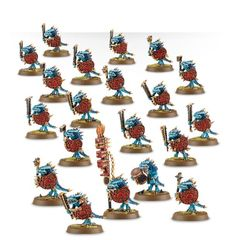 (88-06) Lizardmen Saurus Warriors