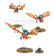 (88-13) Lizardmen Ripperdactyl Riders / Terradon Riders