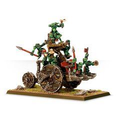 Goblins Snotling Pump Wagon