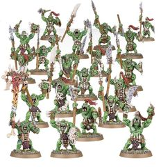 (89-19) Savage Orruks / Savage Orruk Morboys