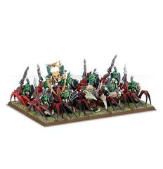 (89-23) Forest Goblin Spider Riders / Grot Spider Riders