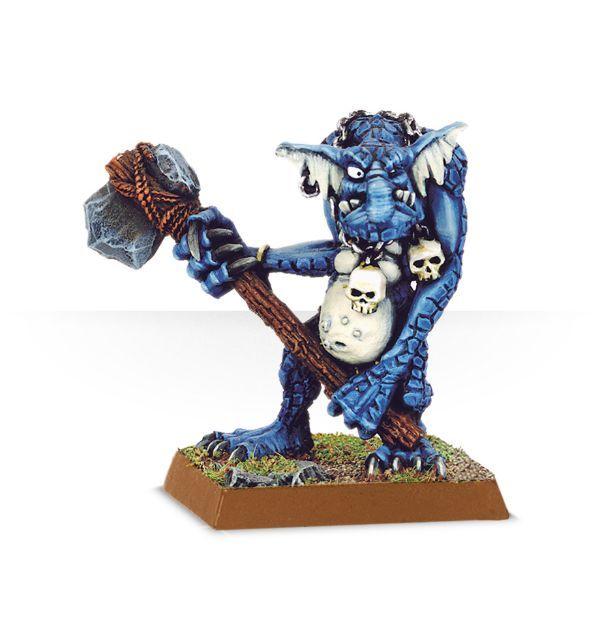 Stone Troll with Great Axe / Rockgut Troggoth
