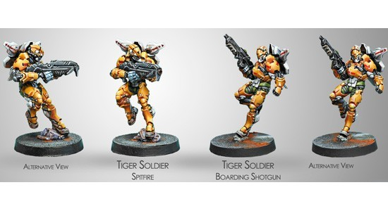 (280396) Tiger Soldiers / Spitfire Boarding Shotgun