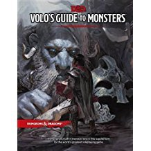 (WOCB8682) Dungeons and Dragons RPG: Volo`s Guide to Monsters