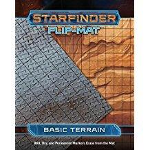(PZO7301) Starfinder RPG: Flip-Mat - Basic Terrain