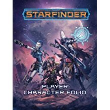 (PZO7103) Starfinder RPG: Player Character Folio