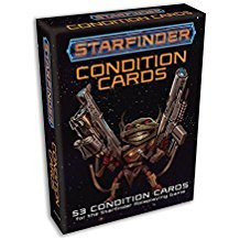 (PZO7104) Starfinder RPG: Condition Cards
