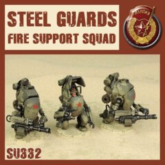 SU332   STEEL GUARD FIRE SUPPORT SQUAD
