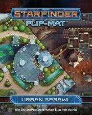 (PZO7305) Starfinder RPG: Flip-Mat - Urban Sprawl