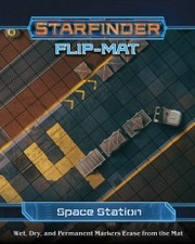 (PZO7306) Starfinder RPG: Flip-Mat - Space Station