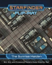 (PZO7307) Starfinder RPG: Flip-Mat - Starship - The Sunrise Maiden