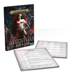 (85-06) Warscroll Cards: Daughters of Khaine