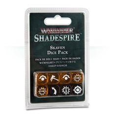 (110-13) Warhammer Underworlds: Shadespire – Skaven Dice Pack