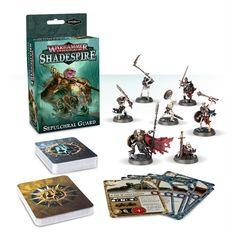 (110-04-60) Warhammer Underworlds: Shadespire – Sepulchral Guard