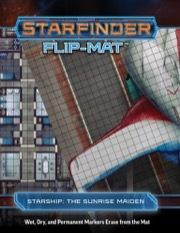 (PZO7307) Starfinder Flip-Mat: Starship, The Sunrise Maiden