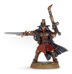 (5755) Inquisitor with Inferno Pistol & Power Sword