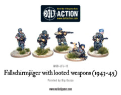 Fallschirmjager w/looted weapons