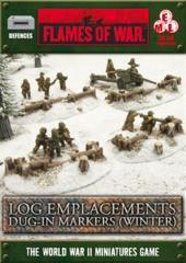 Log Emplacements - Dug In (winter)