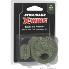 SWZ11 X-Wing (2nd Edition): Scum & Villainy Maneuver Dial Upgrade Kit