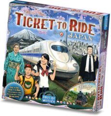 DOW7232 Ticket to Ride: Japan and Italy Map Collection