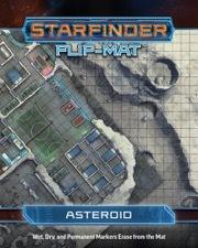 (PZO7308) Starfinder Flip-Mat: Asteroid