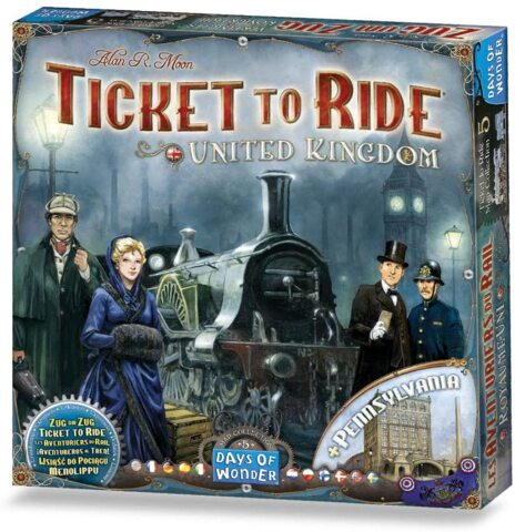 DOW720123 Ticket to Ride: United Kingdom Map Collection