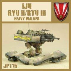 JP115  - IJN -  RYUII / RYU III HEAVY WALKER
