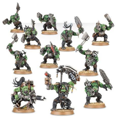 (50-10) Ork Boyz