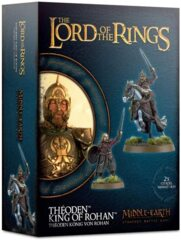 (30-39)  Lord of The Rings: Theoden King of Rohan Plastic Kit