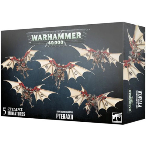 (59-23 ) Warhammer 40K: Adeptus Mechanicus - Pteraxii