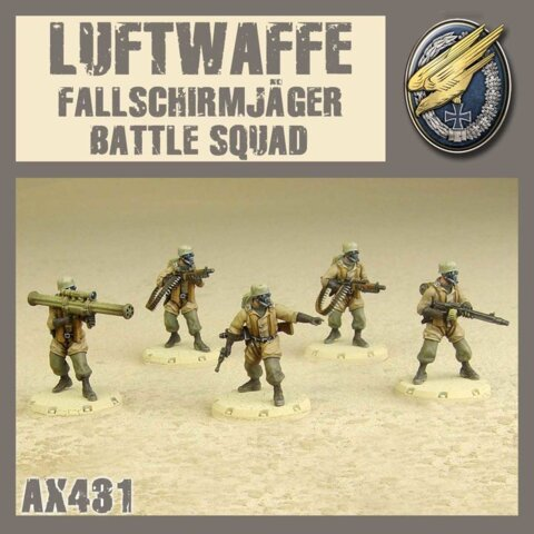 AX431 FALLSCHIRMJAGER BATTLE SQUAD