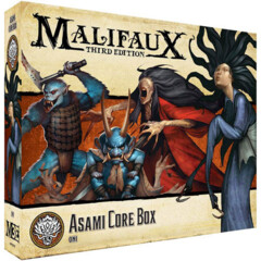 WYR23715 Malifaux 3E: Ten Thunders - Asami Core Box