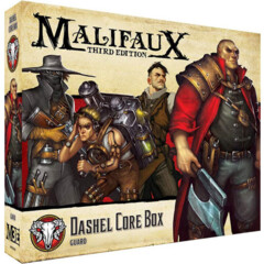 WYR23103 Malifaux 3E: Guild - Dashel Core Box (New Arrival)