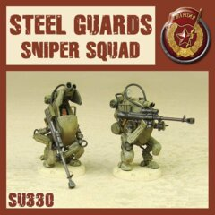 SU330 STEEL GUARD SNIPER SQUAD