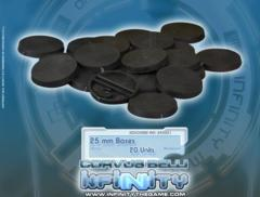 (285051) Infinity Accessories: 25mm Bases (20)