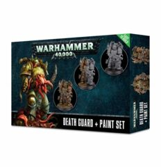 (60-27-60) Death Guard + Paint Set